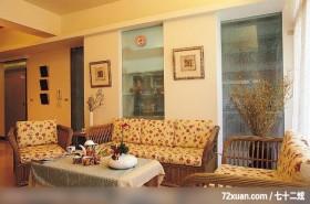 觐得_66_林口,艺堂室内设计,李燕堂,客厅,造型天花板,造型沙发背墙,穿透设计,