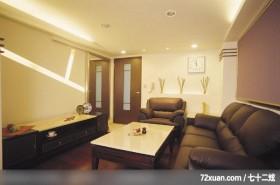 功苑_08,墨比雅设计团队,王思文,客厅,电视柜,造型天花板,造型沙发背墙,整衣镜,