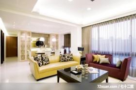 古典设计风格,龙发,王晶,客厅,造型天花板,展示柜,造型主墙,阳台落地窗,