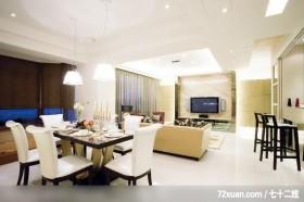 古典设计风格,龙发,王晶,餐厅,造型灯光,拉门,隔间吧台,造型天花板,