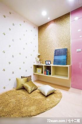 古典设计风格,龙发,王晶,多功能室,书柜,造型主墙,阅读区,