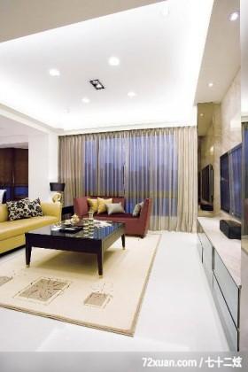 古典设计风格,龙发,王晶,客厅,造型天花板,造型电视主墙,无隔间设计,