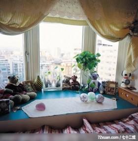 觐得_73,云邑室内设计,李中霖,卧室,观景窗,展示柜,