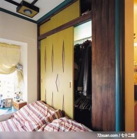 觐得_73,云邑室内设计,李中霖,卧室,造型天花板,造型衣橱,