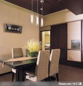 觐得_74_北市信义区,艺堂室内设计,李燕堂,餐厅,造型天花板,造型主墙,
