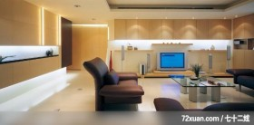 旧屋改造新方案,东易日盛CBD工作室,吴巍,客厅,造型电视主墙,造型灯光,视听柜,造型天花板,冷气摆