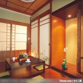 混搭的空间美感,东易日盛CBD工作室,唐伟,多功能室,书桌,垫高地板,收纳衣橱,