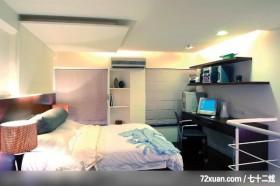 兼具创意与实用的简洁时尚风格,龙发,卢成峰,卧室,书架层板,收纳柜,冷气摆放设计,造型主墙,造型天花