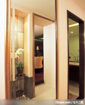 巧设玄关规划家居,龙发,林轶伟,走道,洗脸台面,收纳柜,独创设计,穿衣镜,