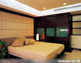 居邑_06,觐得空间设计,游淑慧,卧室,造型天花板,冷气摆放设计,造型主墙,造型衣橱,