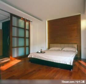 盈满自然绿意的生活舞台,龙发,董志雄,卧室,拉门,造型主墙,造型天花板,