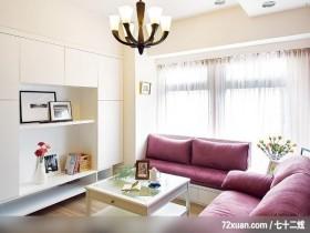 让人羡慕的美式简约家居,龙发,卢成峰,客厅,阳台外推,电视柜,展示柜,收纳柜,造型灯光,