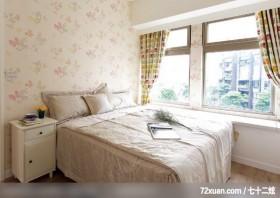 让人羡慕的美式简约家居,龙发,卢成峰,卧室,床头柜,造型主墙,阳台外推,
