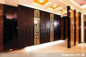 英家_04_台中市,墨比雅设计团队,王思文,玄关,收纳鞋柜,整衣镜,造型天花板,隔屏,