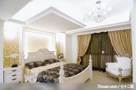 贵族女用白色巧妙打造灵动居室,东易日盛CBD工作室,刘绍军,卧室,造型天花板,造型主墙,床头柜,造型