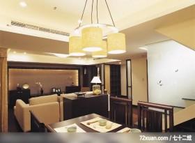 开放式设计,摩登雅舍室内装修,蓝永峻,餐厅,造型楼梯,电视柜,冷气摆放设计,造型灯光,造型天花板,
