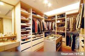 现代自然美感,觐得空间设计,游淑慧,卧室,化妆台,造型天花板,造型衣橱,