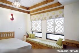 卧室,造型主墙,造型天花板,观景沙发座,化妆台,