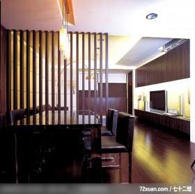 叶伟_02_北市内湖,艺堂室内设计,李燕堂,餐厅,隔屏,冷气摆放设计,电视柜,造型天花板,
