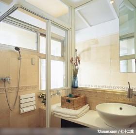66平米轻松打造二人世界,龙发,王晶,浴室,干湿分离隔间,洗脸台面