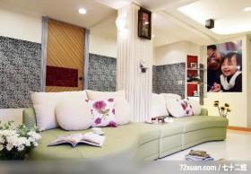 漂亮的风水阁,权释设计,洪韡华,客厅,造型沙发背墙,造型天花板,展示柜,