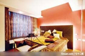 给狗狗一个舒适安静的小窝,春雨时尚空间设计,周建志,卧室,观景沙发座,造型天花板,造型主墙,