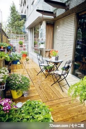 给狗狗一个舒适安静的小窝,春雨时尚空间设计,周建志,阳台,花圃,