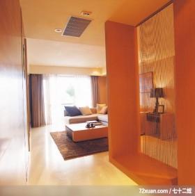 直线的绮丽风情,龙发,郝国伟,客厅,冷气摆放设计,阳台外推,独创设计,造型天花板,