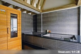 铮峰_09_基隆,墨比雅设计团队,王思文,浴室,造型天花板,汤屋,独创设计,