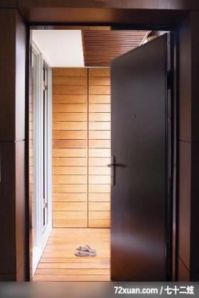 时尚的小小家居,春雨时尚空间设计,周建志,玄关,收纳鞋柜,造型天花板,