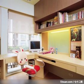 健康环境设计规划,观林室内设计工程,黄传林,书房,阅读区,书柜,收纳柜,