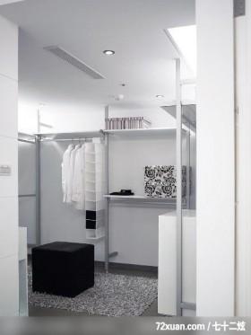 博森_01_林口,春雨时尚空间设计,周建志,卧室,造型衣橱,收纳层板,造型天花板,冷气摆放设计,更衣