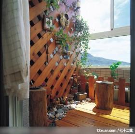 美丽女人喜欢的秘密花园,北京泰吉伟邦设计公司,高震,阳台,独创设计,
