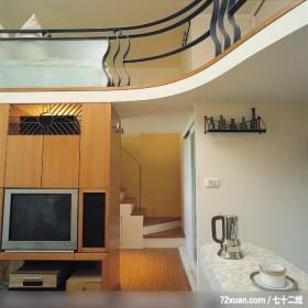 美丽女人喜欢的秘密花园,北京泰吉伟邦设计公司,高震,客厅,挑高设计,电视柜,造型楼梯,视听柜,