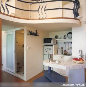 美丽女人喜欢的秘密花园,北京泰吉伟邦设计公司,高震,厨房,流理台主墙,冰箱收纳柜,收纳柜,挑高设计,