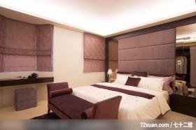 低调奢华的一家四口,龙发,殷实,卧室,卧塌,阅读区,造型主墙,床头柜,造型天花板,