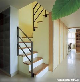 方场_01_北市,观林室内设计工程,黄传林,楼梯间,造型楼梯,收纳柜,红酒收纳柜,