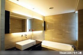 IS_27_北市,东易日盛亚奥工作室,张岭,浴室,洗脸台面,