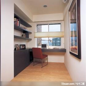 IS_28_北市,北京泰吉伟邦设计公司,马豪,书房,书架层板,书桌,