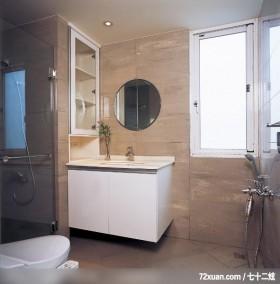 IS_28_北市,北京泰吉伟邦设计公司,马豪,浴室,洗脸台面,收纳柜,干湿分离隔间,