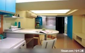 绝妙的空间设计,北京上尚格室内设计有限公司,张永雷,厨房,收纳鞋柜,透明隔间,早餐吧台,造型调味料架