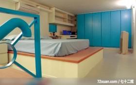 绝妙的空间设计,北京上尚格室内设计有限公司,张永雷,卧室,造型衣橱,冷气摆放设计,阅读区,书柜,