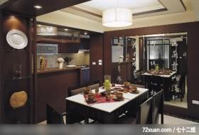 宜兴?汉泽_02,春雨时尚空间设计,周建志,餐厅,展示柜,造型主墙,隔间吧台,造型天花板,造型灯光,