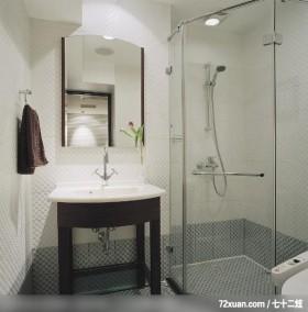 IS_41_北市,龙发,张斌,浴室,干湿分离隔间,洗脸台面,