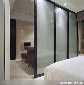 IS_42_北市,龙发,林轶伟,卧室,穿透设计,拉门,