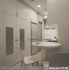 IS_42_北市,龙发,林轶伟,厨房,冰箱,早餐吧台,