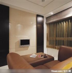 IS_42_北市,龙发,林轶伟,客厅,电视背景墙,
