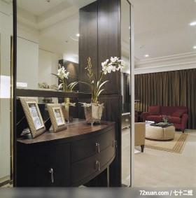 IS_46_北市,北京泰吉伟邦设计公司,马豪,玄关,鞋柜,整衣镜,展示柜,