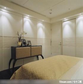 IS_46_北市,北京泰吉伟邦设计公司,马豪,卧室,隐藏门,衣橱,造型天花板,冷气摆放设计,