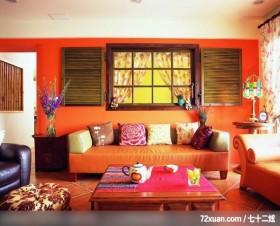 丁薇芬_07_北市北投,春雨时尚空间设计,周建志,客厅,造型沙发背墙,